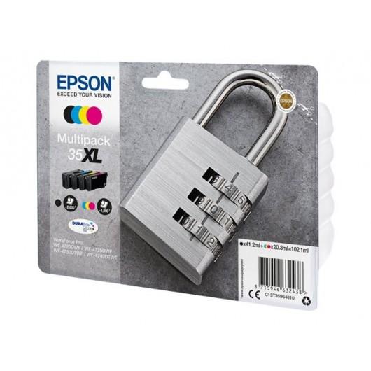 Epson T3596 - Epson Cadenas - Pack de 4 cartouches XL Epson