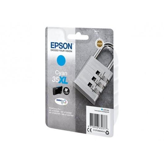 Epson T3592 - Epson Cadenas - Cyan - Cartouches XL Epson