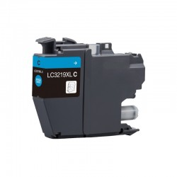 Brother LC3219XLC- Cyan -  Cartouche d'encre Compatible Brother