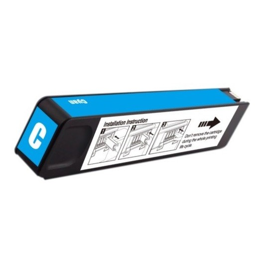 HP D8J07A - HP 980 - Cyan - Cartouche Compatible HP