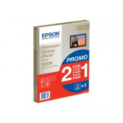Epson Premium Glossy Photo Paper BOGOF - papier photo - 15 feuille(s)