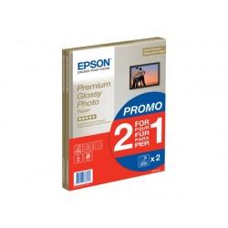Epson Premium Glossy Photo Paper BOGOF - papier photo - 15 feuille(s)
