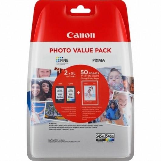 Canon PG-545XL / CL-546XL - 8286B006 - 2 Cartouches XL Canon
