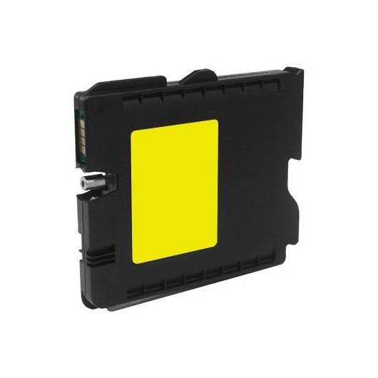 Ricoh 405535 / GC-21Y - Jaune - Cartouche Compatible Ricoh