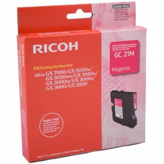Ricoh 405534 / GC-21M - Magenta - Cartouche Ricoh