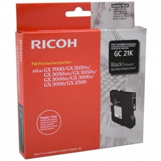Ricoh 405532 / GC-21BK - Noir - Cartouche Ricoh