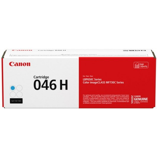 Canon 046 HC - Haute capacité - Cyan - Cartouche de Toner Canon