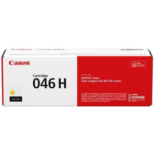 Canon 046 HY - Haute capacité - Jaune - Cartouche de Toner Canon