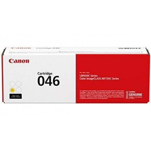 Canon 046 Y - Jaune - Cartouche de Toner Canon