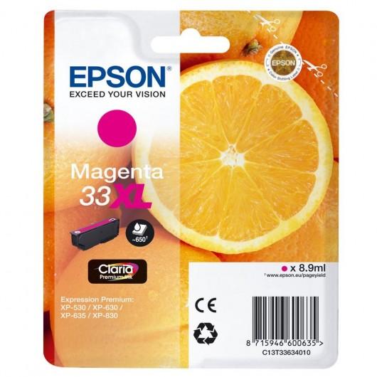 Epson T3363 - Epson 33XL - Orange - Magenta - Cartouche d'encre Epson