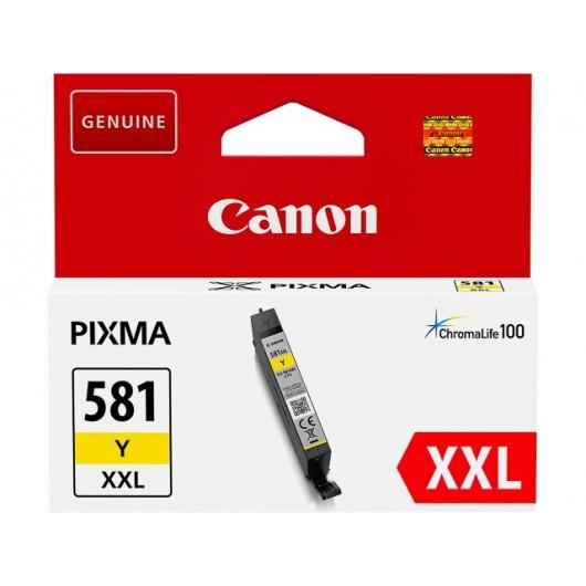 Canon CLI-581Y XXL - Jaune - Cartouche XXL Canon