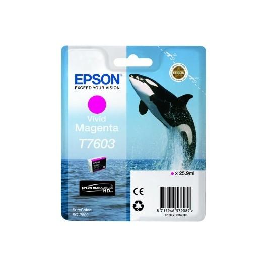 Epson T7603 - Orque - Magenta - Cartouche d'encre Epson