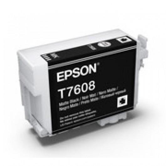 Epson T7608 - Dauphin - Noir mat - Cartouche d'encre Epson