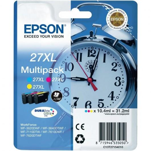 Epson T2715 - Epson 27XL - Reveil - MultiPack de 3 Cartouches Epson