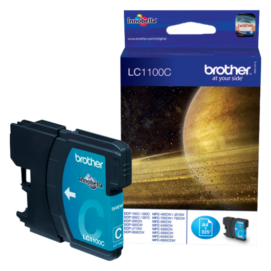 Brother LC-1100C - Cyan - Cartouche d'encre Brother