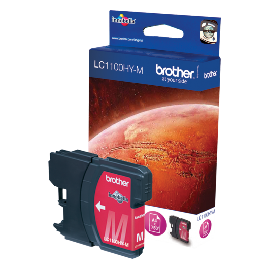 Brother LC-1100HYM - Magenta - Cartouche d'encre Brother