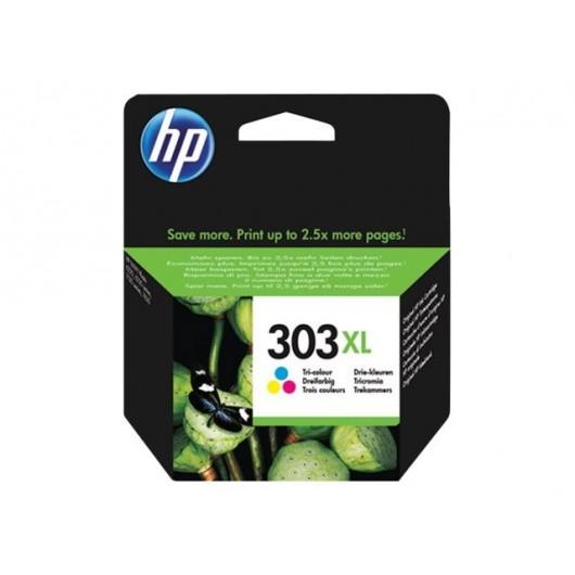 HP 303XL - T6N04AE - Couleurs - Cartouche XL HP