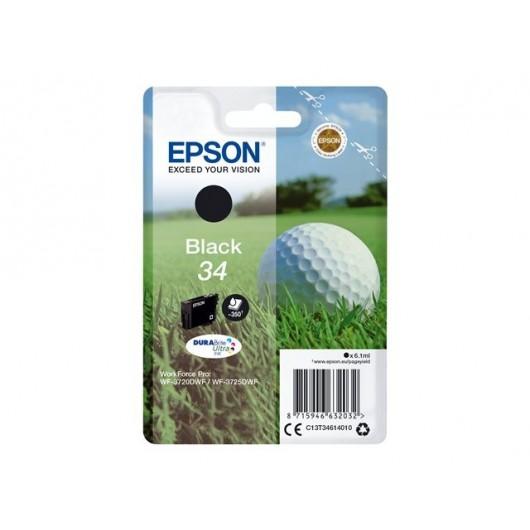 Epson 34 - Epson Balle de Golf - Noir - Cartouche jet d'encre Epson