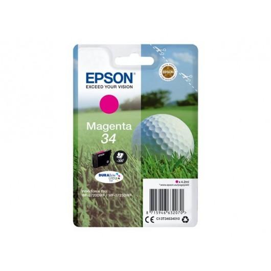 Epson 34 - Epson Balle de Golf - Magenta - Cartouche jet d'encre Epson