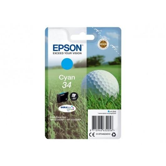 Epson 34 - Epson Balle de Golf - Cyan - Cartouche jet d'encre Epson