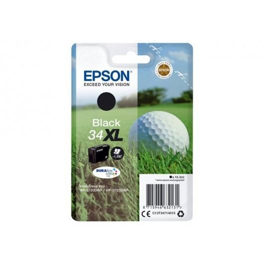 Epson 34XL - Epson Balle de Golf - Noir - Cartouche jet d'encre Epson