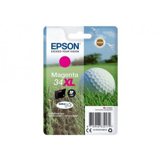 Epson 34XL - Epson Balle de Golf - Magenta - Cartouche jet d'encre Epson