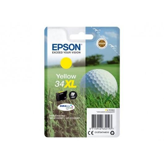 Epson 34XL - Epson Balle de Golf - Jaune - Cartouche jet d'encre Epson