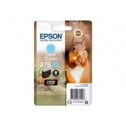 Epson T3795 - Epson 378XL - Ecureuil - Cyan Clair - Cartouche d'encre Epson
