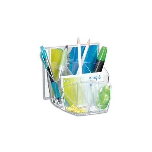 multipot 08 compartiments coloris cristal