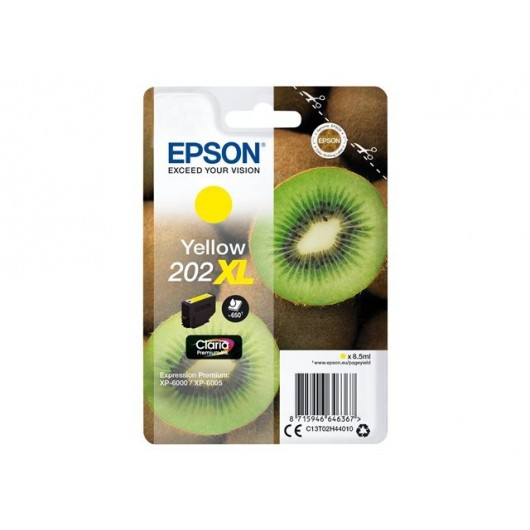 Epson 202XL - Epson Kiwi -Jaune - Cartouche d'encre Epson