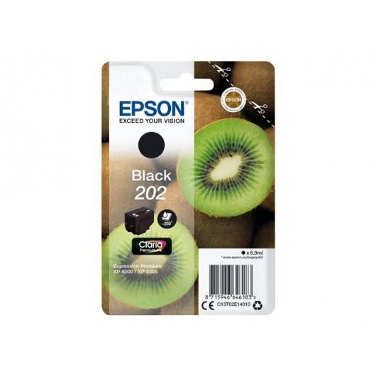 Epson 202 - Epson Kiwi - Noir - Cartouche d'encre Epson