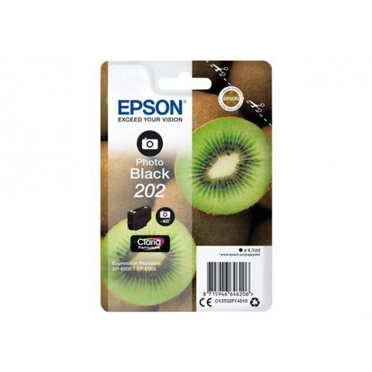 Epson 202 - Epson Kiwi - Noir-Photo - Cartouche d'encre Epson