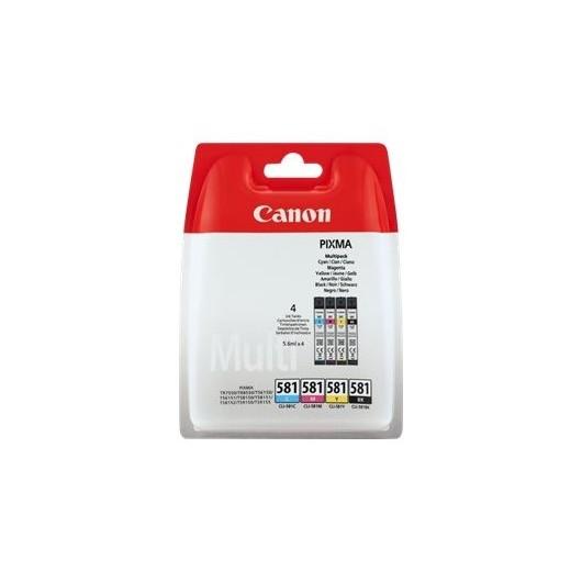 Canon CLI-581- C/M/Y/BK - Cartouche Canon