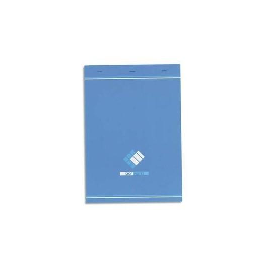 HAMELIN Bloc bureau 60 grammes format 21 x29, 7 cm agrafé règlure 5x5 34-12-07