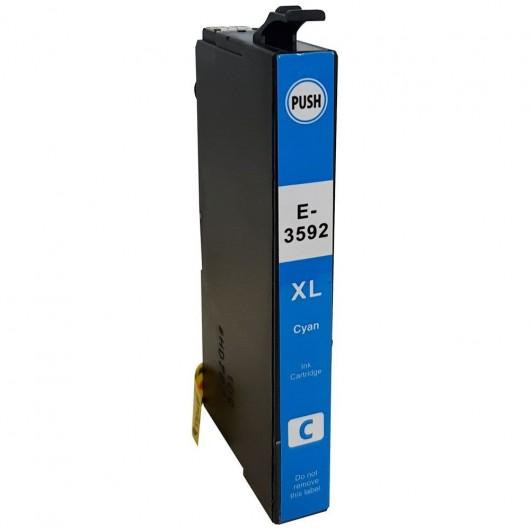 Epson T3592 - Epson Cadenas - Cyan - Cartouches XL Compatible Epson
