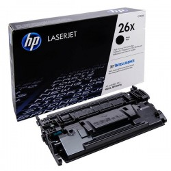 HP 26X - HP CF226X - Noir - Toner XL HP
