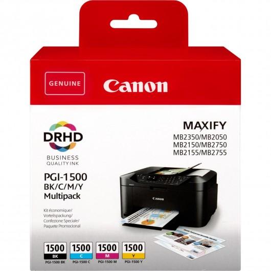 Canon PGI-1500 - 9218B005 - 4 Cartouches d'encre Canon