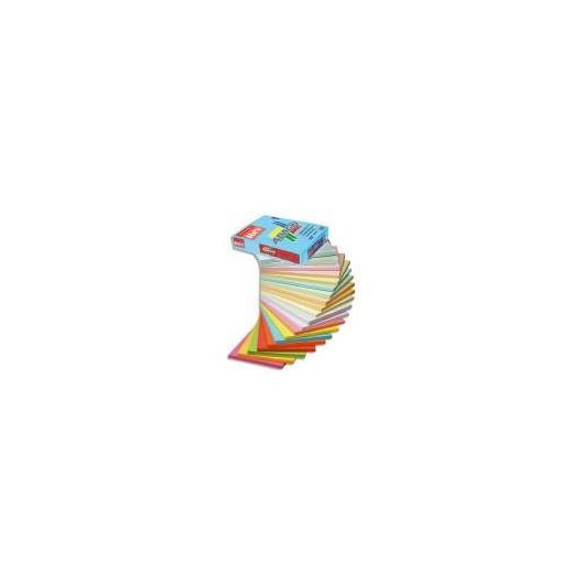 INAPA Ramette 250 feuilles papier couleur pastel ADAGIO ivoire pastel A4 160g