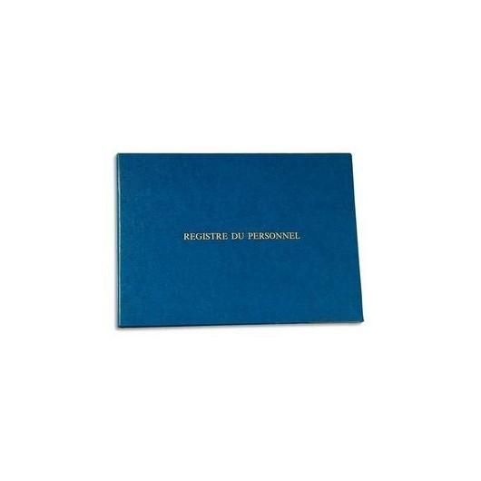 LE DAUPHIN Registre du personnel 24x32 cm 40 pages + garde