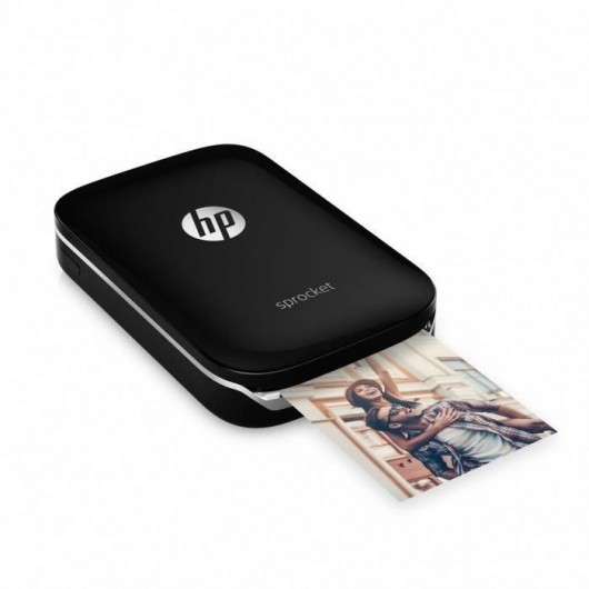 HP Imprimante photo Sprocket Noir