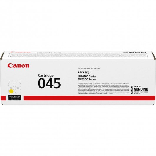 Canon 045 - Jaune -  Cartouche de toner