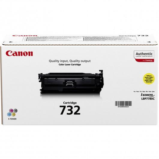 Canon 732 Y- jaune - Cartouche de Toner Canon