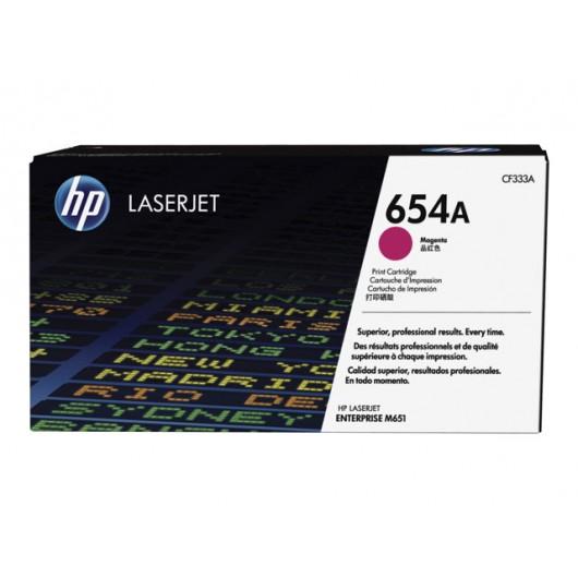 HP 654A - HP CF333A - Magenta - Toner HP