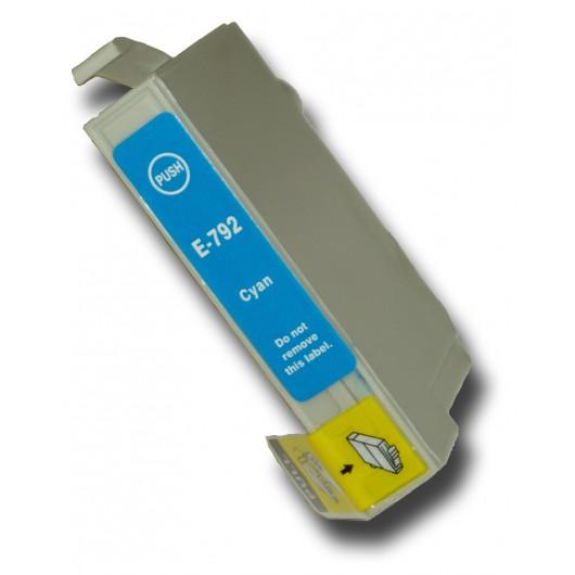 Epson T0792 - Chouette - Cyan - Cartouche Compatible Epson