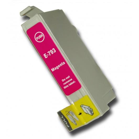 Epson T0793 - Chouette - Magenta - Cartouche Compatible Epson