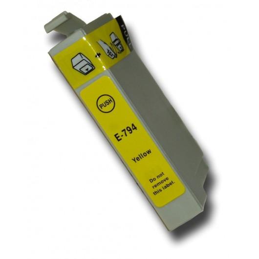 Epson T0794 - Chouette - Jaune - Cartouche Compatible Epson