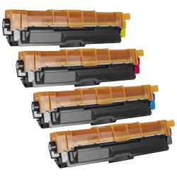 Brother TN-241/TN-245 - Noir, Cyan, Magenta ,Jaune - Pack de 4 Toners Compatibles Brother