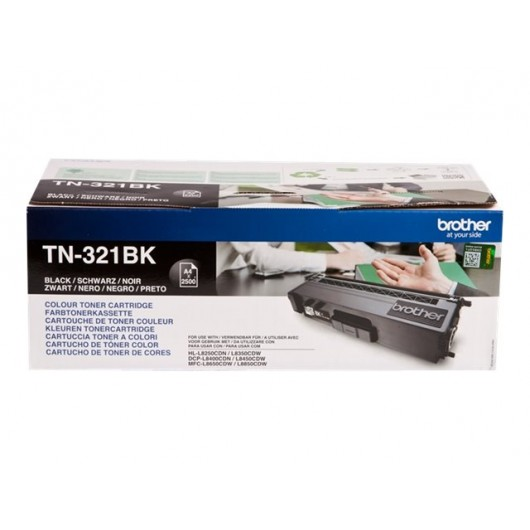 Brother TN-321BK - Noir - Toner Brother
