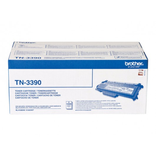 Brother TN-3390 - Noir - Toner Brother