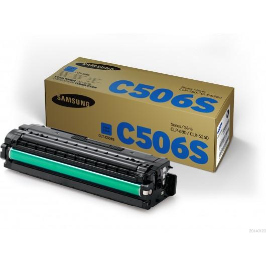 Samsung CLT-C506L / Samsung SU038A - Cyan - Toner XL Samsung